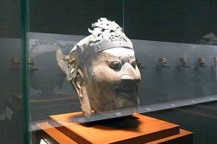 Horyu-ji Temple donation treasure lecture surface, Tokyo National Museum
