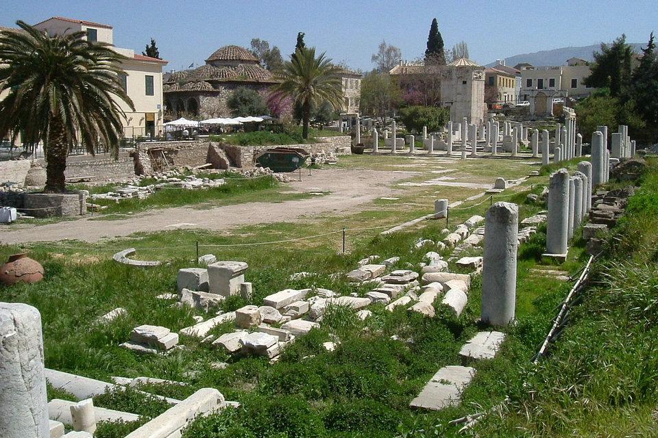 古代ギリシャのアゴラ | HiSoUR ...