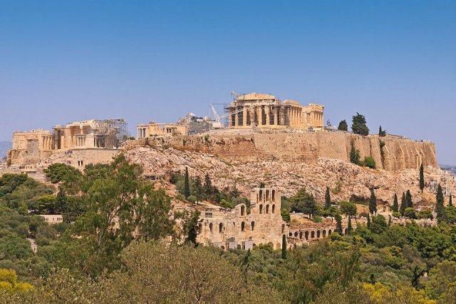 Templo Griego Antiguo Hisour Arte Cultura Historia