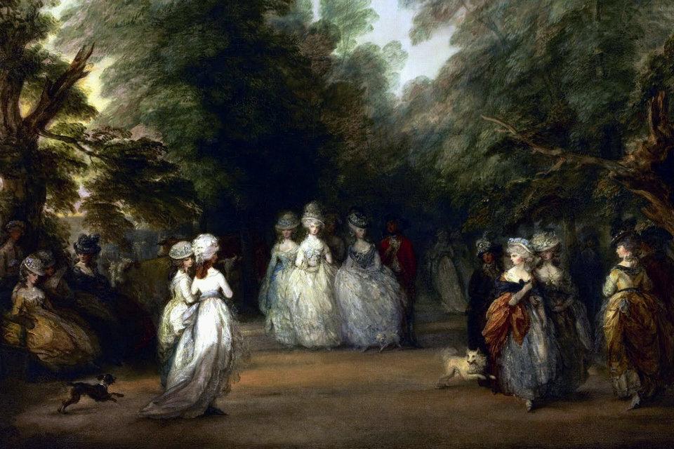 Mode de style Louis XVI des femmes en 1775-1785 – HiSoUR Art ...
