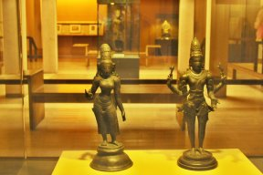 Archaeological section, Museum of king Shivaji, India