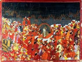 Art section, Museum of king Shivaji, India