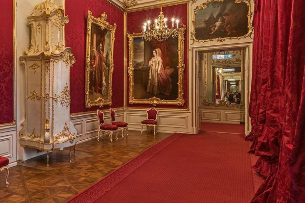 Eastern rooms, Schönbrunn Palace