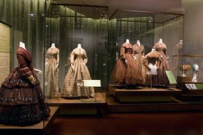 From rural to urban - 400 years of Western fashion, China National Silk Museum