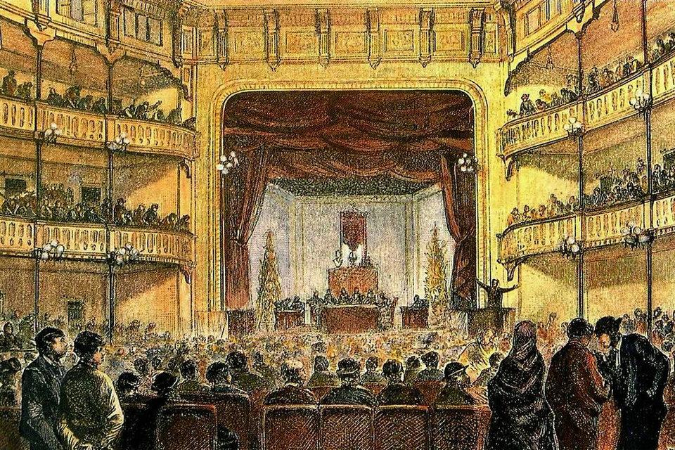Teatro romântico – HiSoUR Arte Cultura Exposição