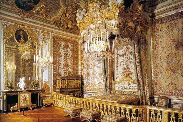 The Queen's chamber, Palace of Versailles