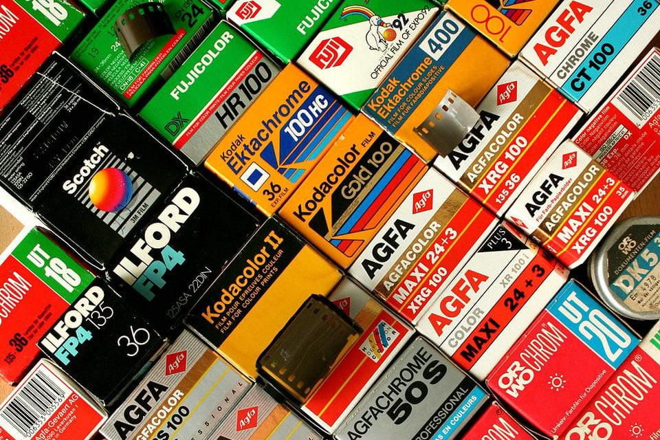 Papel de impresión instantánea Polaroid Originales película a color para I-Tipo-x40 paquete de la película