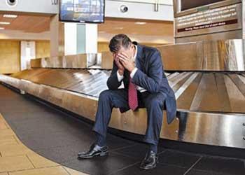 Resultado de imagen de avión responsabilidad perdida de maleta