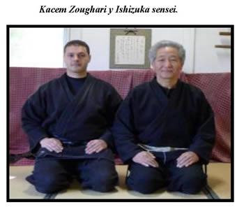 Kacem Zoughari y Ishizuka sensei.