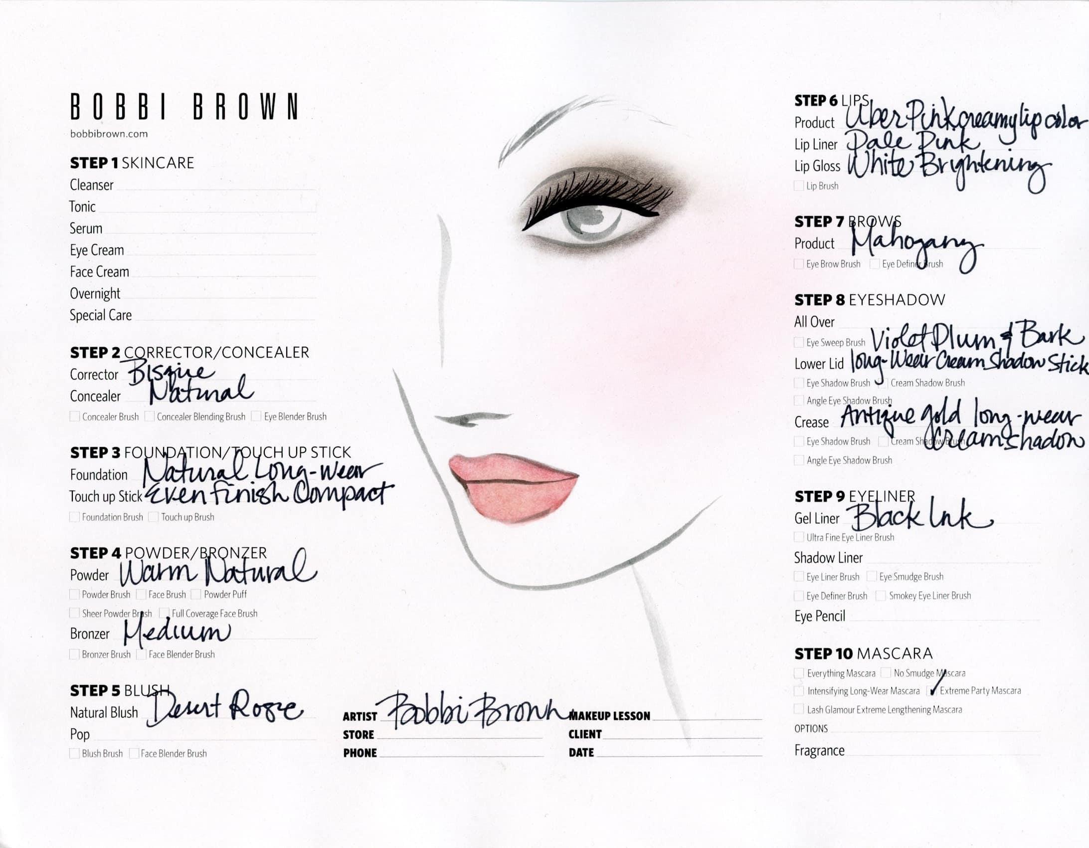 Katie holmes bobbi brown face char hispana global katie holmes face chart by bobbi brown geenschuldenfo Gallery