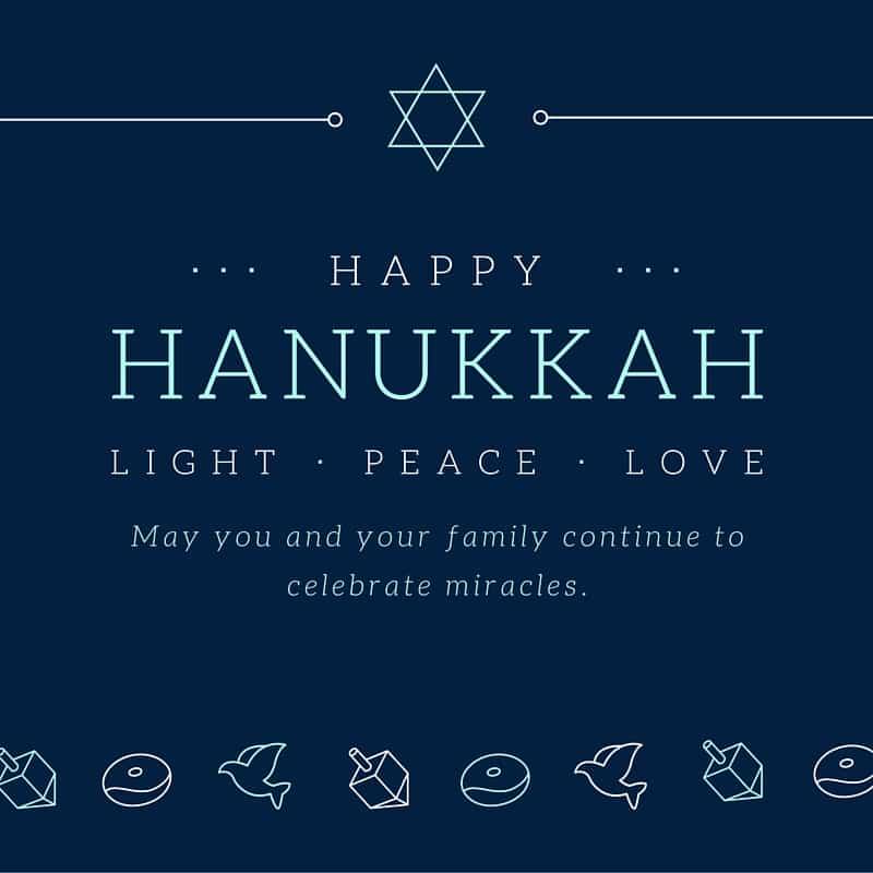 Free Hanukkah Cards Hispana Global