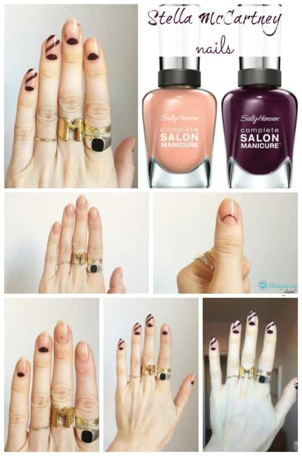Stella Mccartney nail art tutorial
