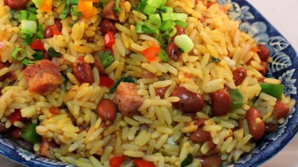 arroz mamposteao recipe