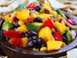 Mango Salsa with Black Beans Recipe