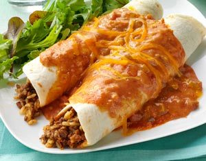garlic beef enchilada recipe