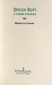 Mohamed Chakor - Diván sufí y otros poemas