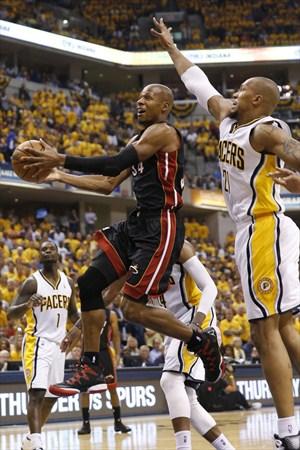 Ray Allen ganó un anillo con Miami Heat
