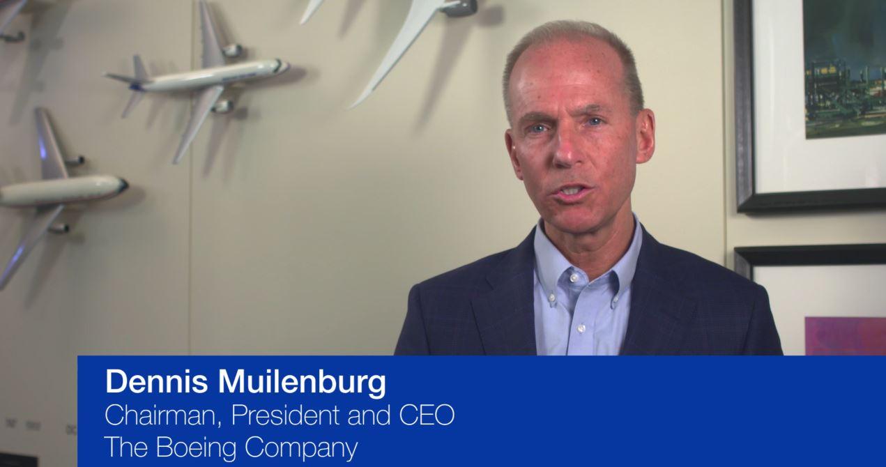 Resultado de imagen para Dennis Muilenburg Boeing