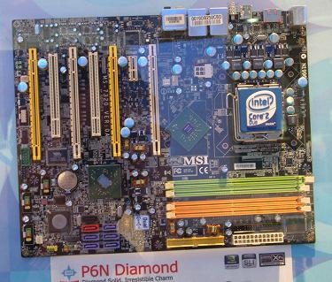 MSI parece tener lista la P6N Diamond con XFI integrada.