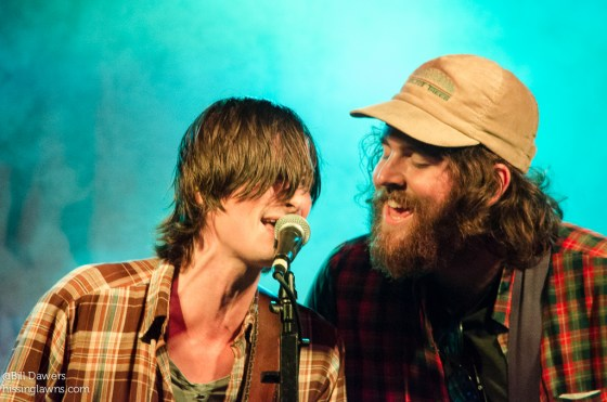 T. Hardy Morris + Carter King of Futurebirds at Revival Fest 2014 in Savannah