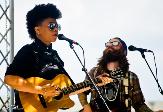 Amythyst Kiah at the 2013 Revival Fest