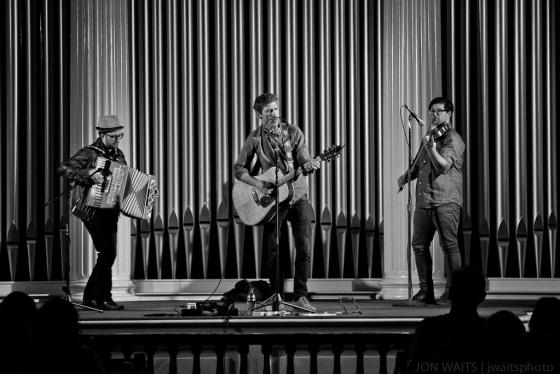 Jared Hall, Colin Gilmore, Isaac Smith