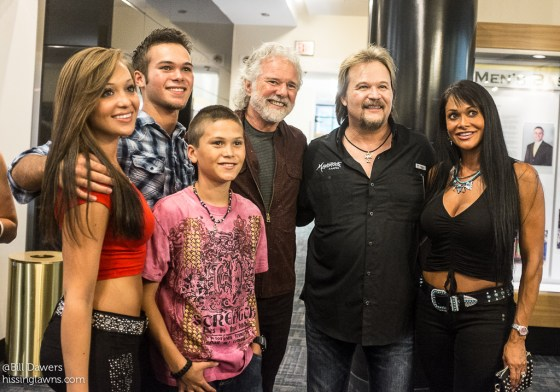 hey, it's Chuck Leavell with Travis Tritt & family