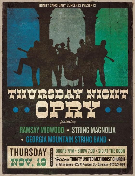 Thursday Night Opry | Fall Edition