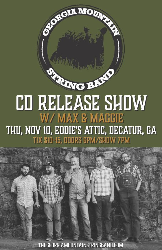 Georgia Mountain Stringband CD Release Show
