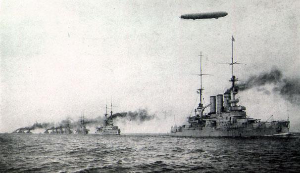 Resultado de imagen de batalla de Jutlandia