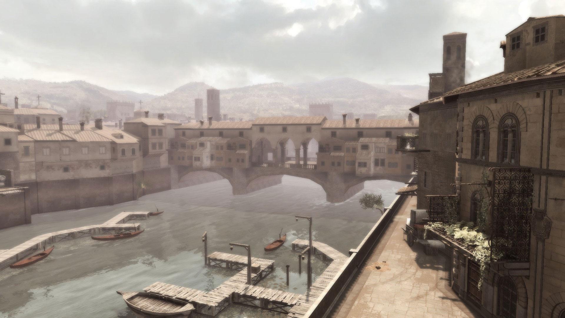 Ezio's Ponte Vecchio (Source: Historia Games)