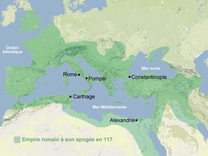 Apogée de l'Empire romain - Antiquité, Rome - Histoire