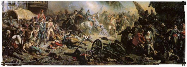 La bataille du Mans pendant la virée de Galerne