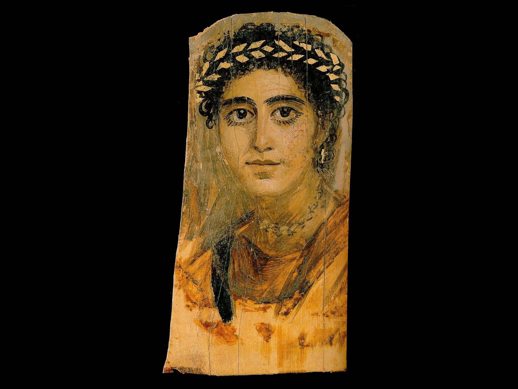 Les Portraits Du Fayoum Histoire Et Civilisations Anciennes
