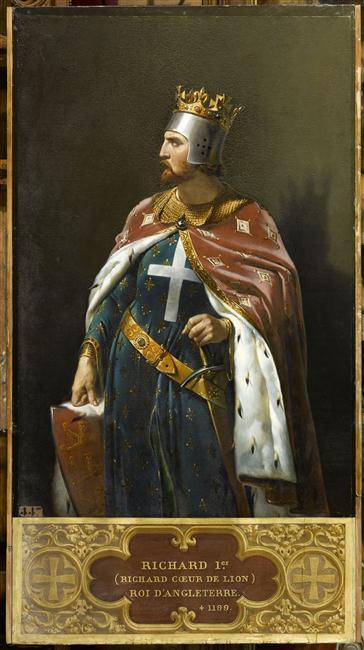 Richard Ier, Coeur de Lion, roi d'Angleterre en 1189