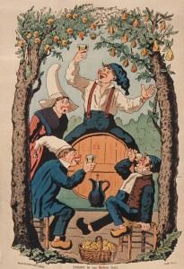 Affiche de promotion du cidre.