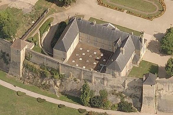 Le logis des gouverneurs au château de Caen