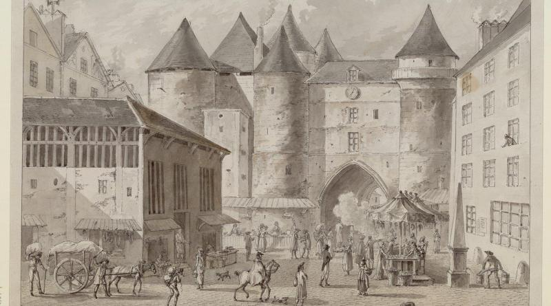 Le Grand Châtelet de Paris en 1800
