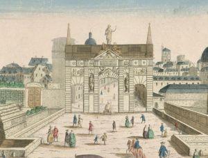 Porte Saint Antoine en 1749