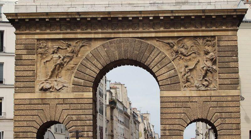 Porte Saint Martin vue du sud