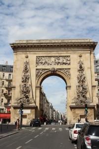porte Saint Denis coté sud