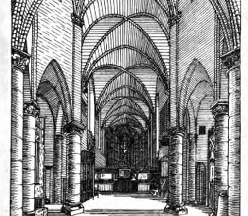 Sainte Marie du Temple - vue à l'intérieur