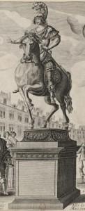 Statue de Louis XIII par Picart