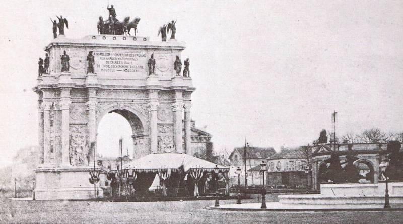 Arc de Triomphe de Victor Baltard