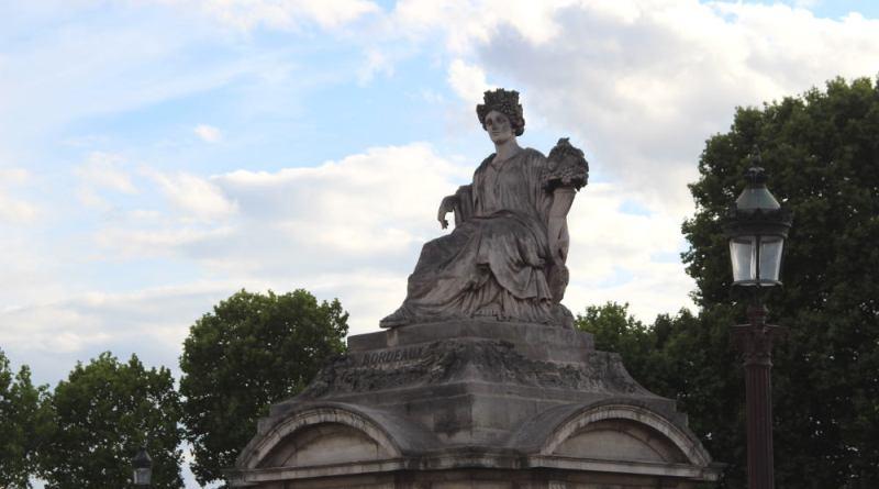 Statue des villes de la Concorde : Bordeaux