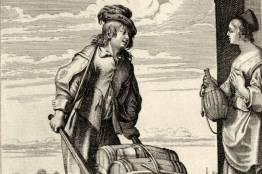 le vinaigrier - Le marchand de vinaigre par Abraham Bosse