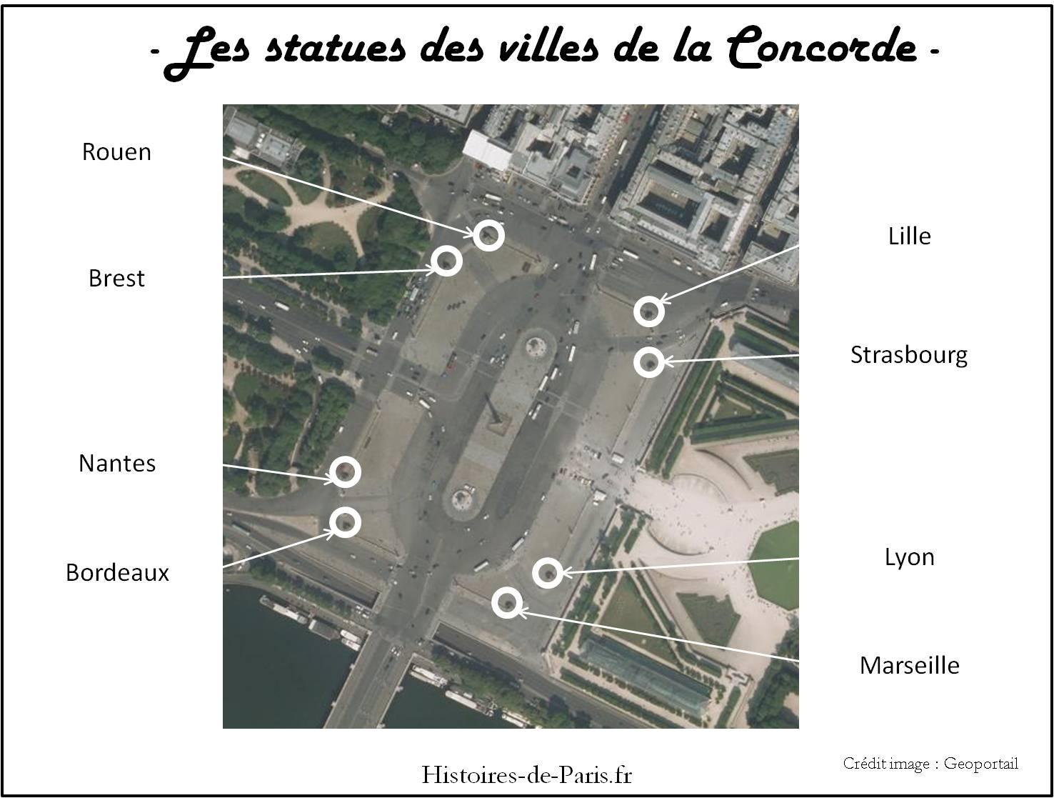 Plan Des Villes Autour De Rouen