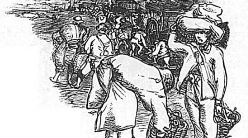 les coltineurs les travailleurs de la Seine