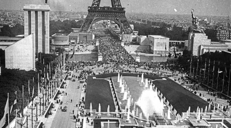 vue générale de l'exposition internationale 1937