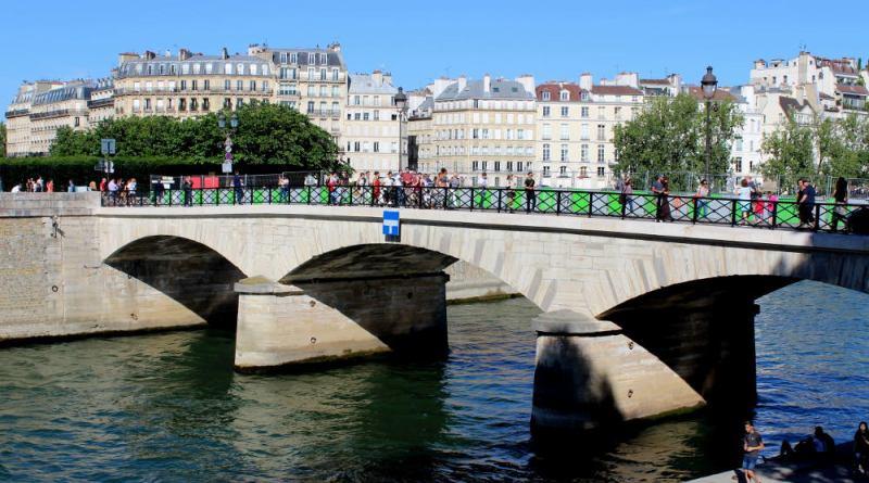 Le pont de l'Archevêché
